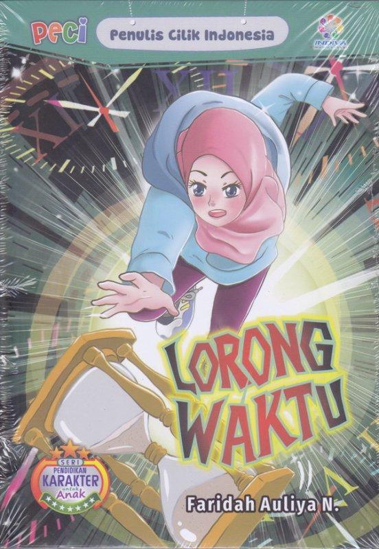 Cover Buku Lorong Waktu (peci)