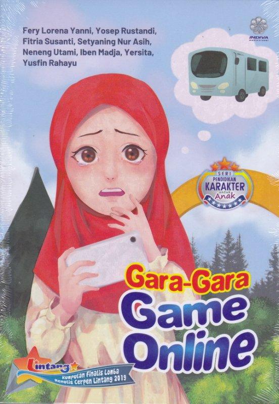 Cover Buku Gara-Gara Game Online (peci)