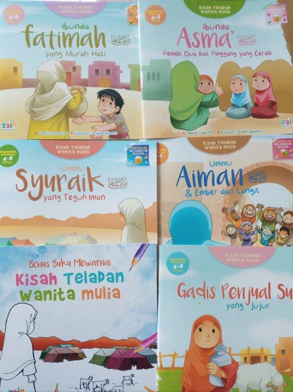Cover Buku paket Kisah Teladan Wanita Mulia
