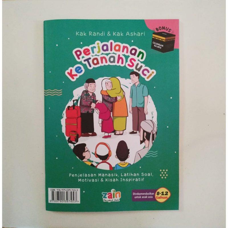 Cover Buku Buku Perjalanan ke Tanah Suci