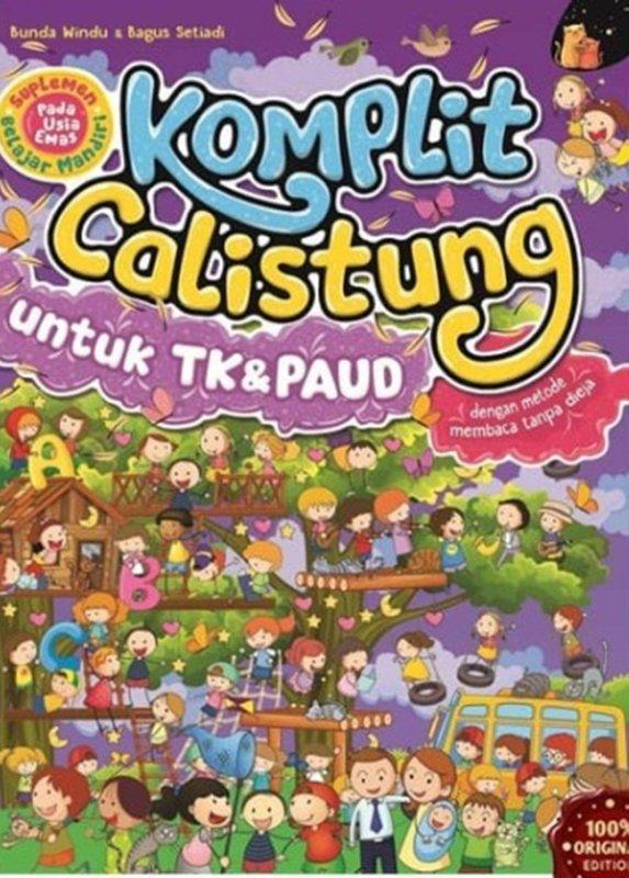 Cover Buku Komplit Calistung Untuk Tk & Paud : Suplemen Belajar Mandiri
