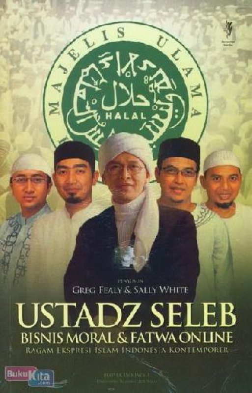Cover Buku Ustadz Seleb Bisnis Moral & Fatwa Online BK