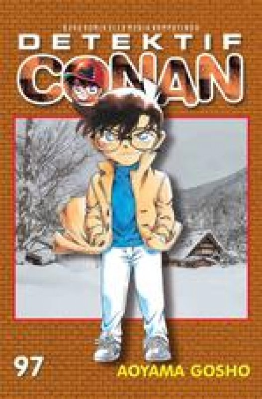 Cover Buku Detektif Conan 97
