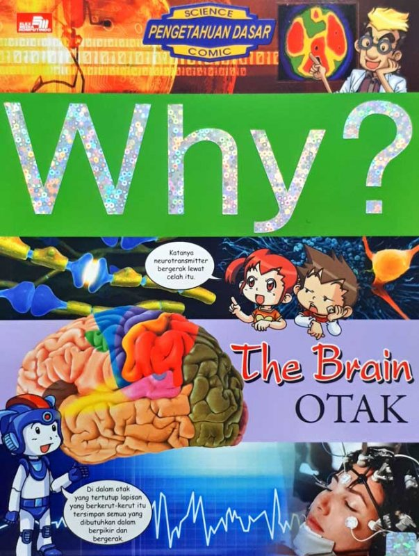 Cover Buku Why? The Brain: Otak