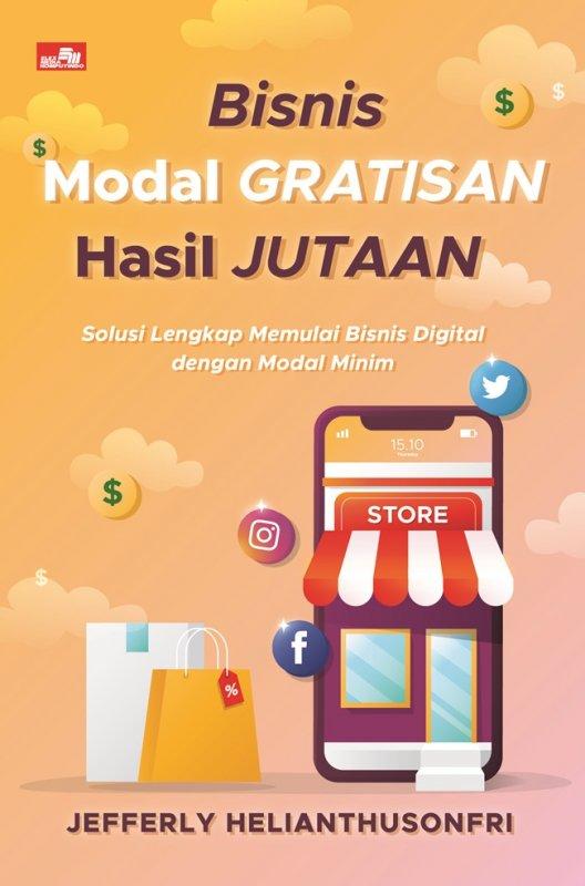 Cover Buku Bisnis Modal Gratisan Hasil Jutaan