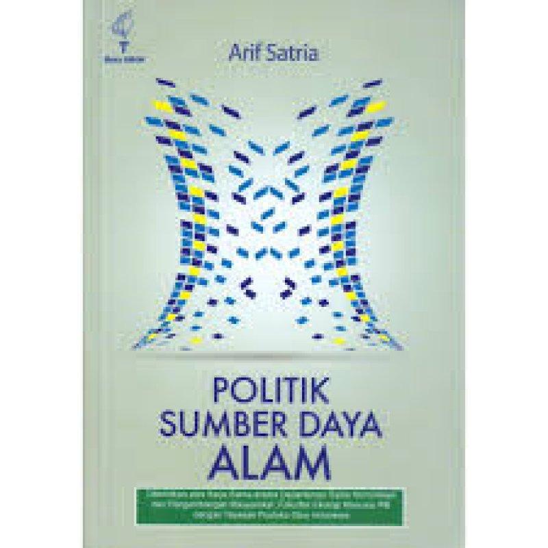 Cover Buku Politik Sumber Daya Alam: dari era SBY hingga Jokowi