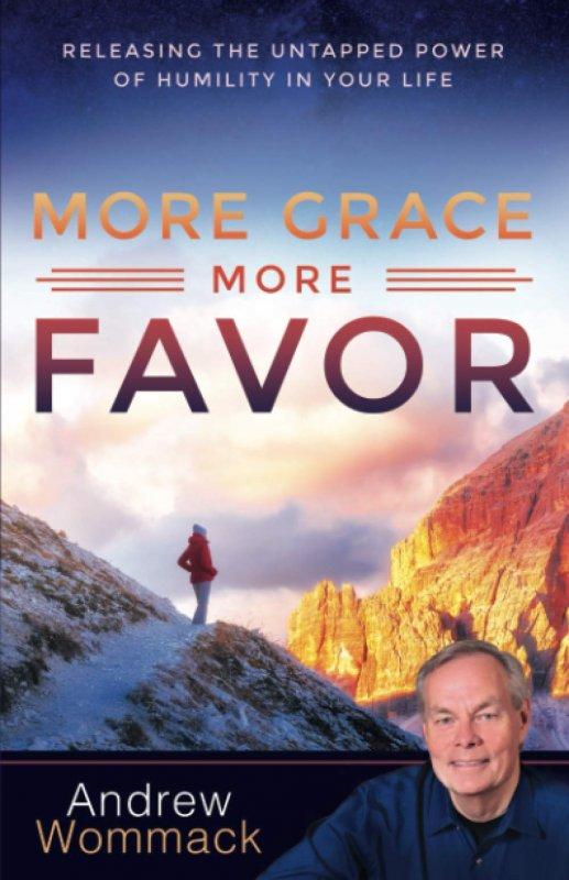 Cover Buku MORE GRACE MORE FAVOR