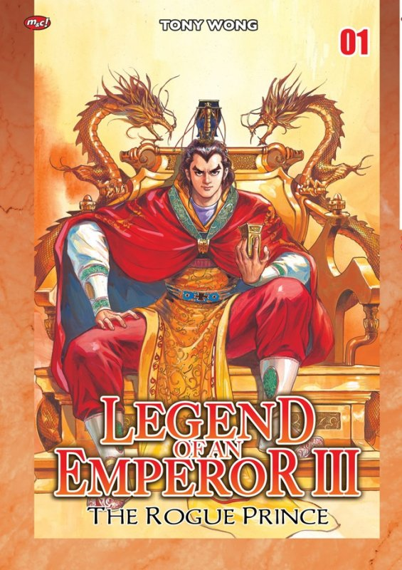Cover Buku Legend Of An Emperor Iii : The Rogue Prince 01