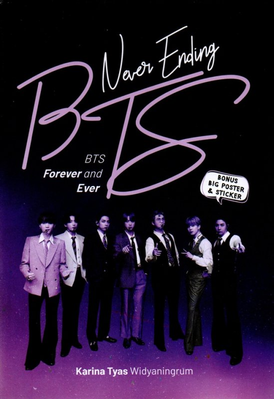 Cover Buku Never Ending Bts : Bts Forever And Ever