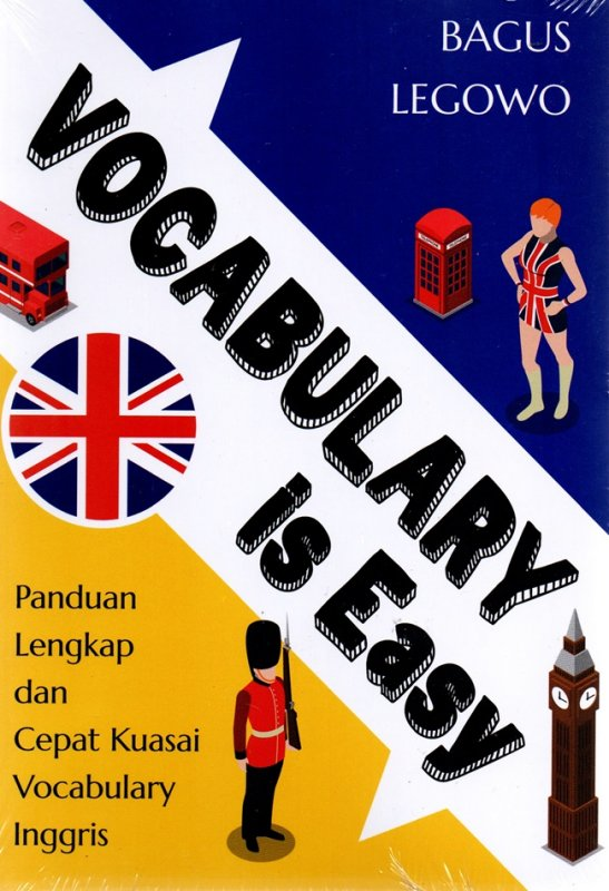 Cover Buku Vocabulary Is Easy: Panduan Lengkap Dan Cepat Kuasai Vocabulary Inggris