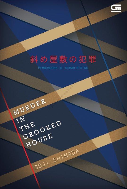 Cover Buku Pembunuhan Di Rumah Miring (Murder In The Crooked House) Baru