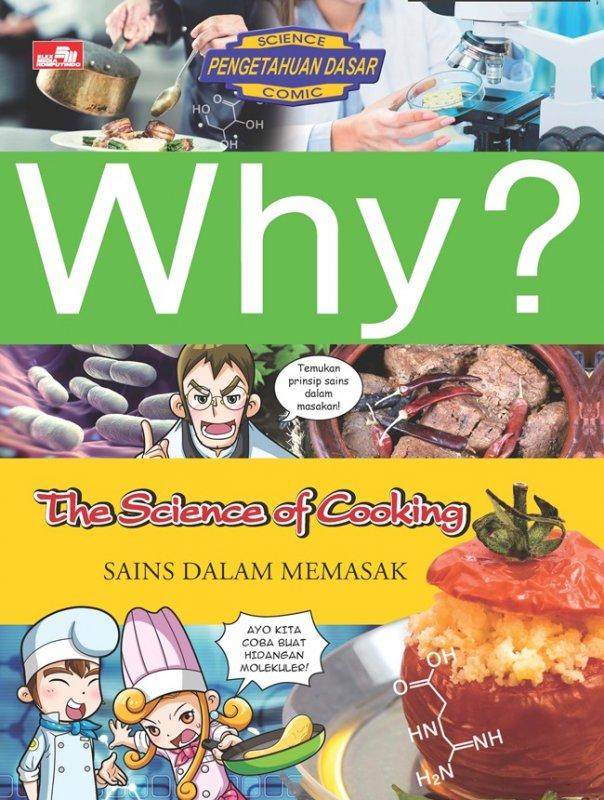 Cover Buku Why? The Science of Cooking: sains dalam memasak