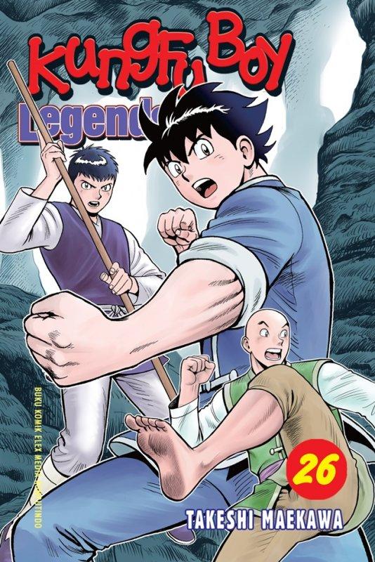 Cover Buku Kungfu Boy Legends 26