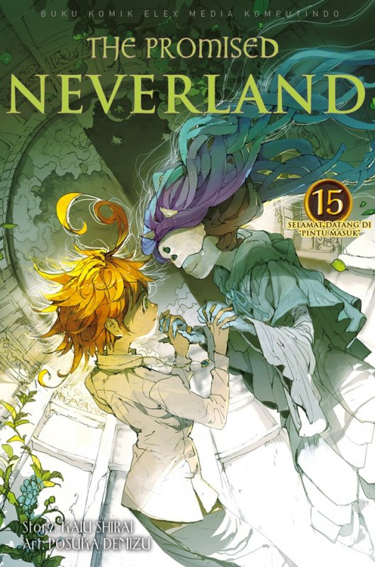Cover Buku The Promised Neverland 15