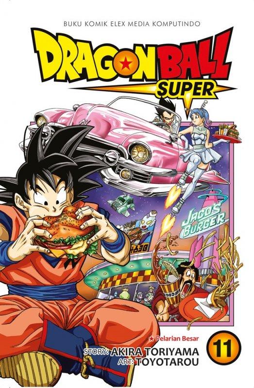 Cover Buku Dragon Ball Super Vol. 11