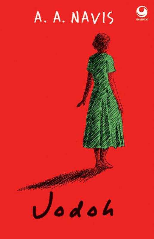 Cover Buku Jodoh sebuah kumpulan puisi