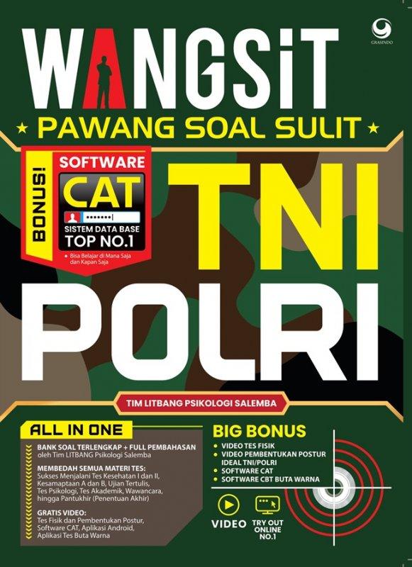 Cover Buku Wangsit Pawang Soal Sulit Tni Polri