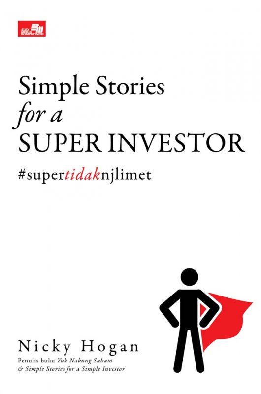 Cover Buku Simple Stories for a Super Investor