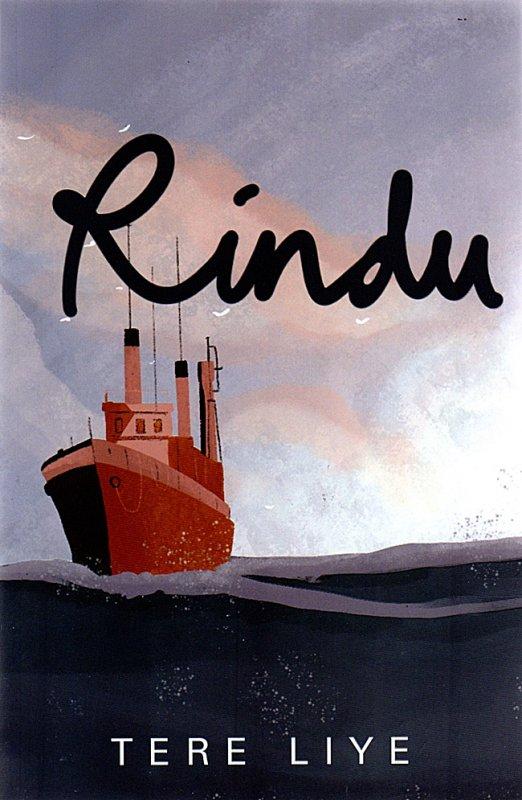 Cover Buku Rindu (cover baru 2021)