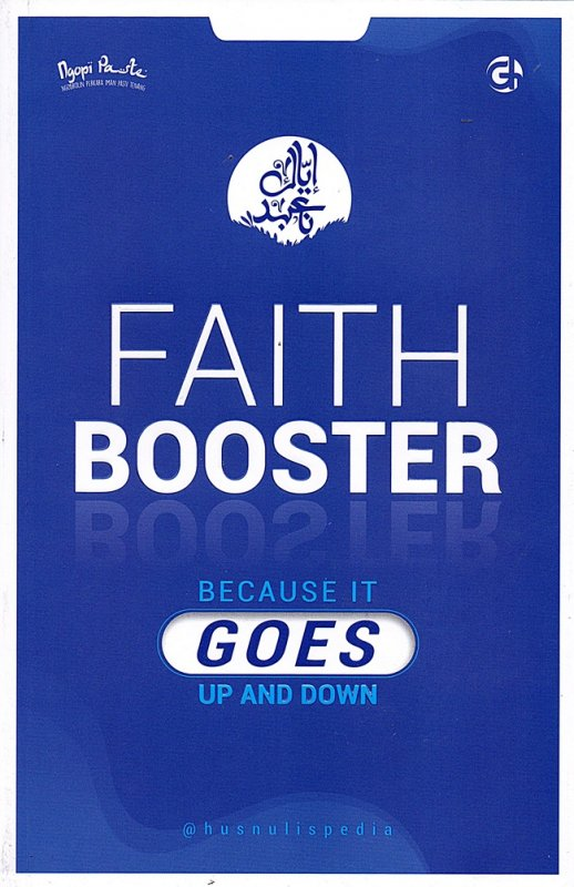 Cover Buku Faith Booster