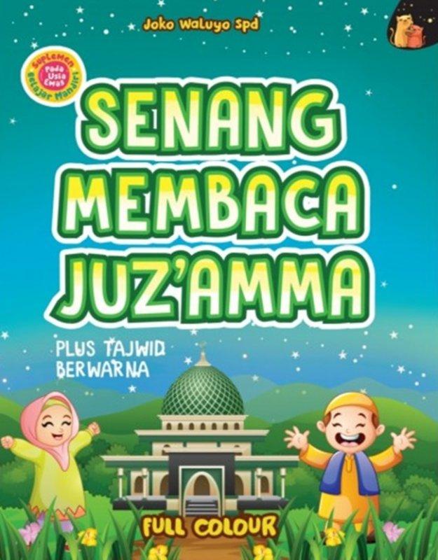 Cover Buku Senang Membaca Juz`Amma