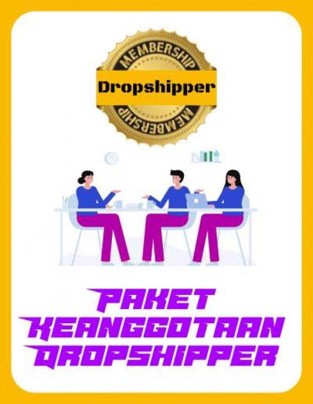 Cover Buku Keanggotaan Investasi Dropship Bukukita