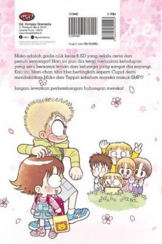 Cover Belakang Buku Komik Seri : Hai, Miiko! 33 Edisi Khusus
