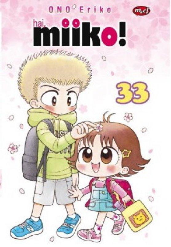 Cover Buku Komik Seri : Hai, Miiko! 33 Edisi Khusus