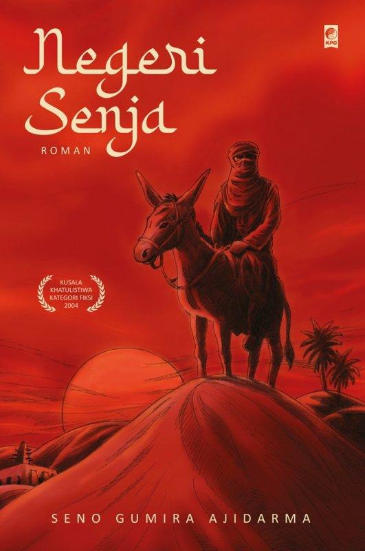 Cover Buku NEGERI SENJA (novel roman)