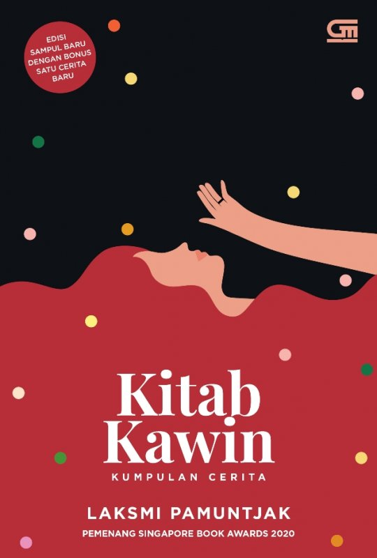 Cover Buku Kitab Kawin (kumpulan cerita)