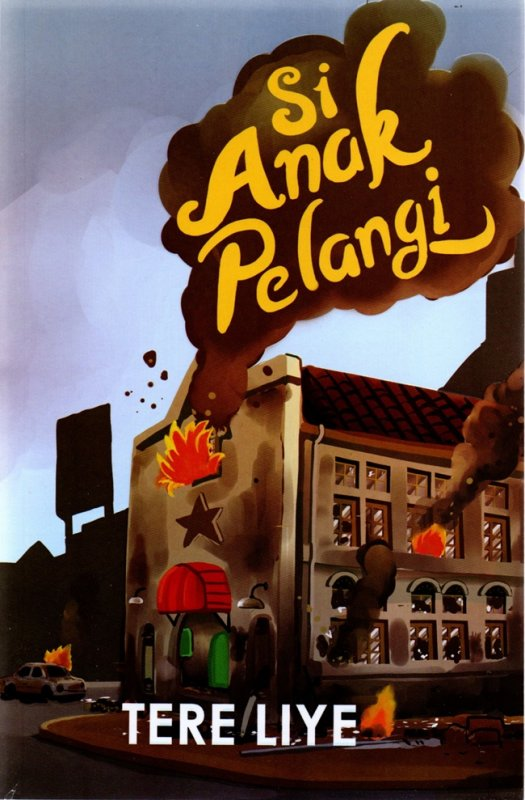 Cover Buku Si Anak Pelangi (Cover 2021)