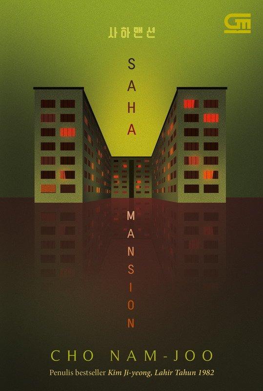 Cover Buku Saha Mansion