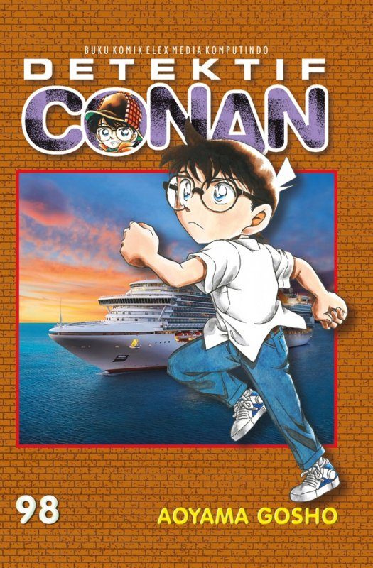 Cover Buku Detektif Conan 98
