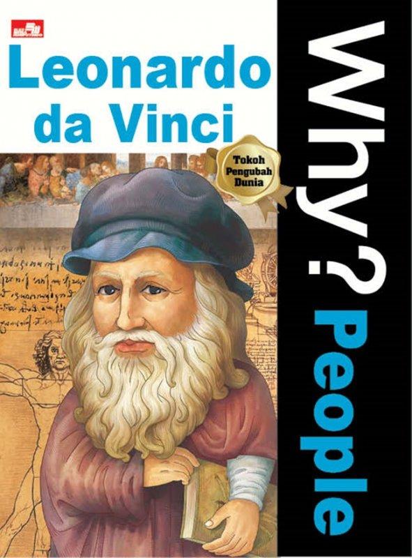 Cover Buku Why? People - Leonardo Da Vinci