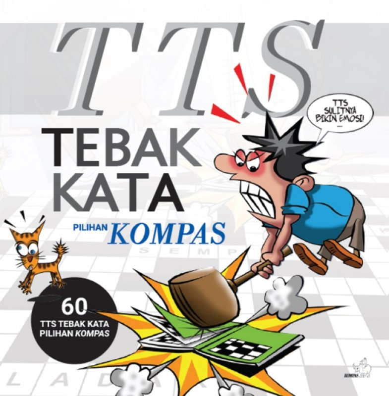Cover Buku Tts Tebak Kata Pilihan Kompas