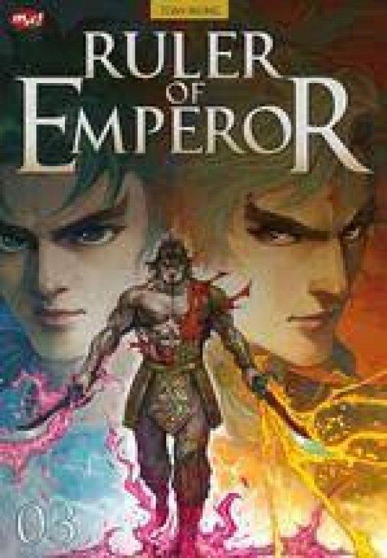 Cover Buku Ruler Of Emperor 03