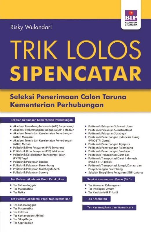 Cover Buku Trik Lolos Sipencatar