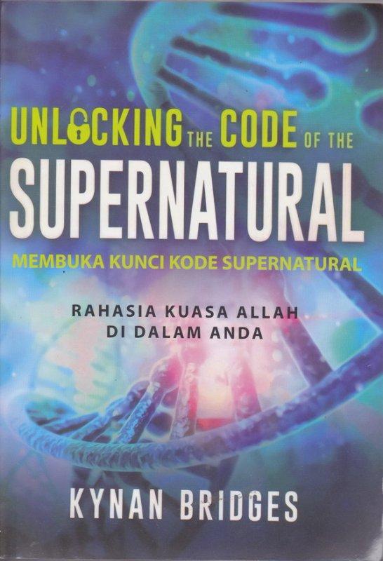 Cover Buku  Membuka Kunci Kode Supernatural