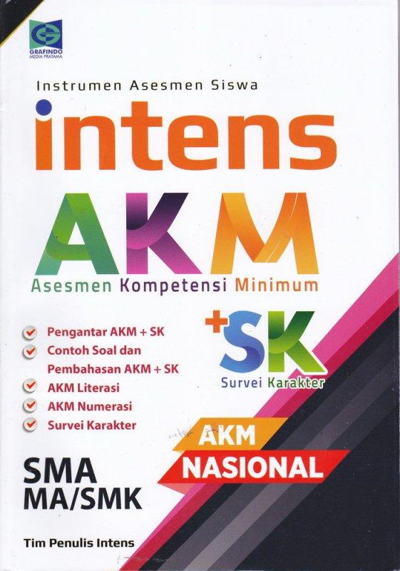 Cover Buku Asesmen Kompetensi Minimun ( AKM ) SMA MA/ SMK