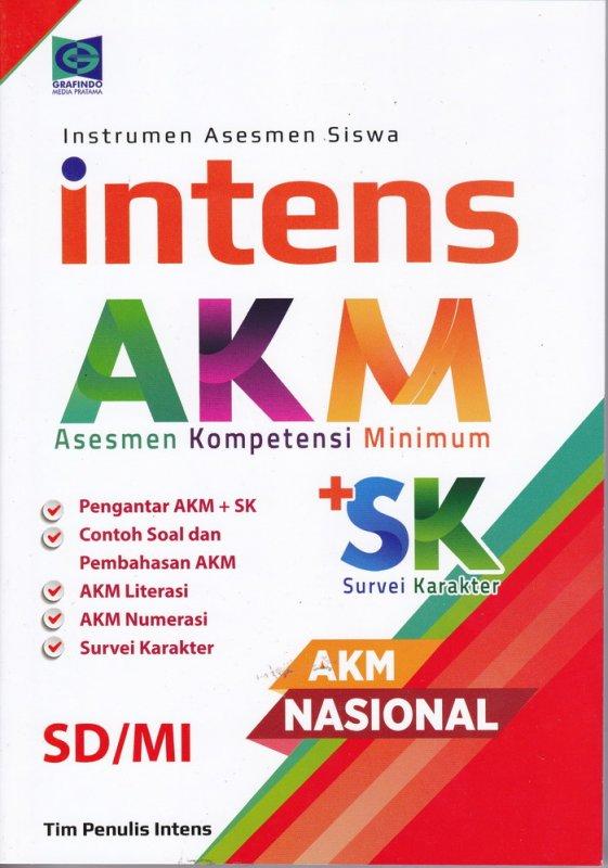 Cover Buku Asesmen Kompetensi Minimun ( AKM ) SD / MI