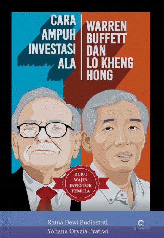 Cover Buku Cara Ampuh Investasi Ala Warren Buffett Dan Lo Kheng Hong