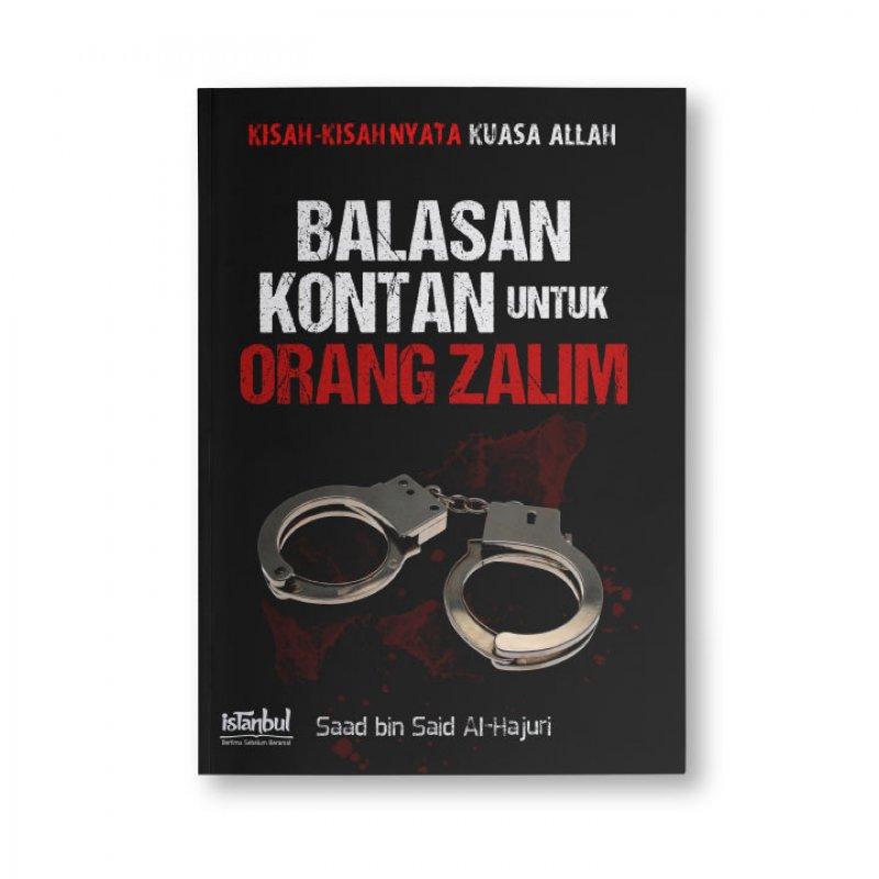 Cover Buku Balasan Kontan Untuk Orang Zalim