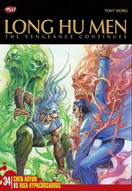 Cover Buku Long Hu Men The Vengeance Continues 34