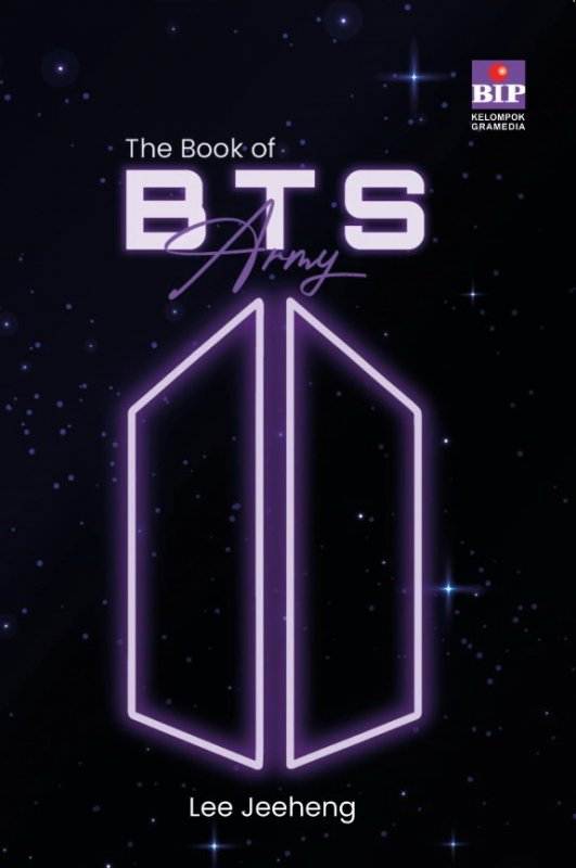 Cover Buku The Book of BTS ARMY