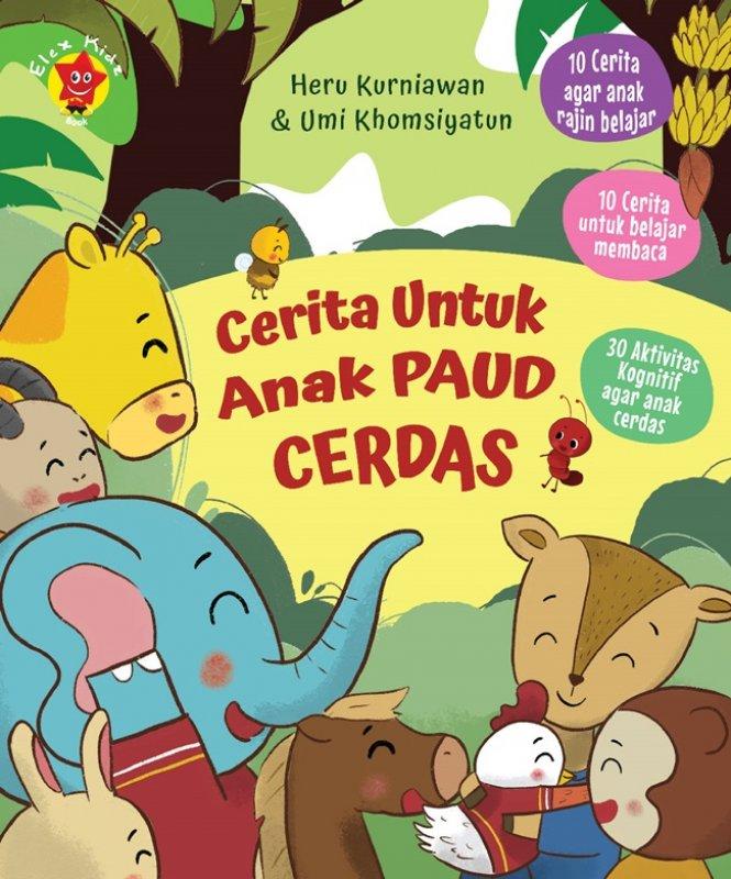 Cover Buku Cerita Untuk Anak Paud Cerdas