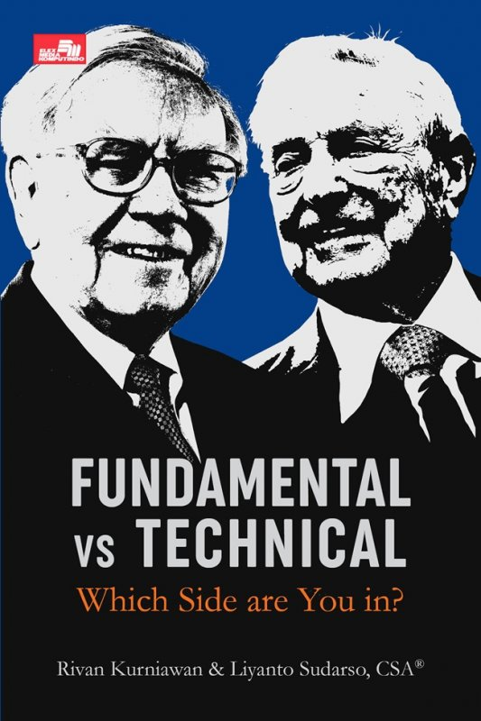 Cover Buku Fundamental Vs Technical: Which Side Are You In?