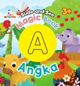 Opredo Slide And See Magic Book - Angka