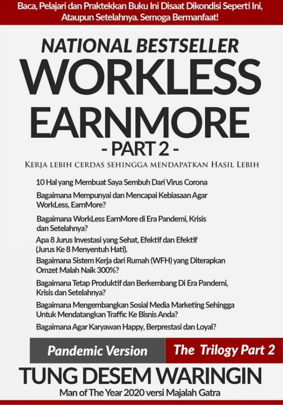 Cover Buku Workless Earnmore the trilogy Part 2