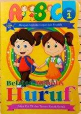 Belajar Menulis Huruf ABC Jilid 1