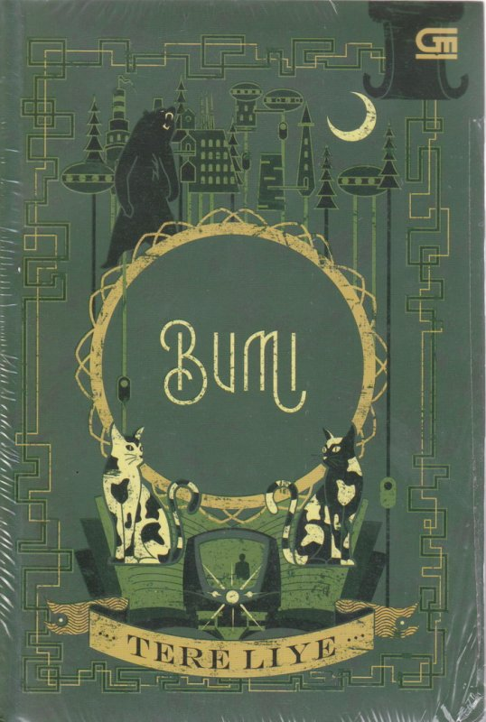 Cover Buku Bumi (Cover Baru )